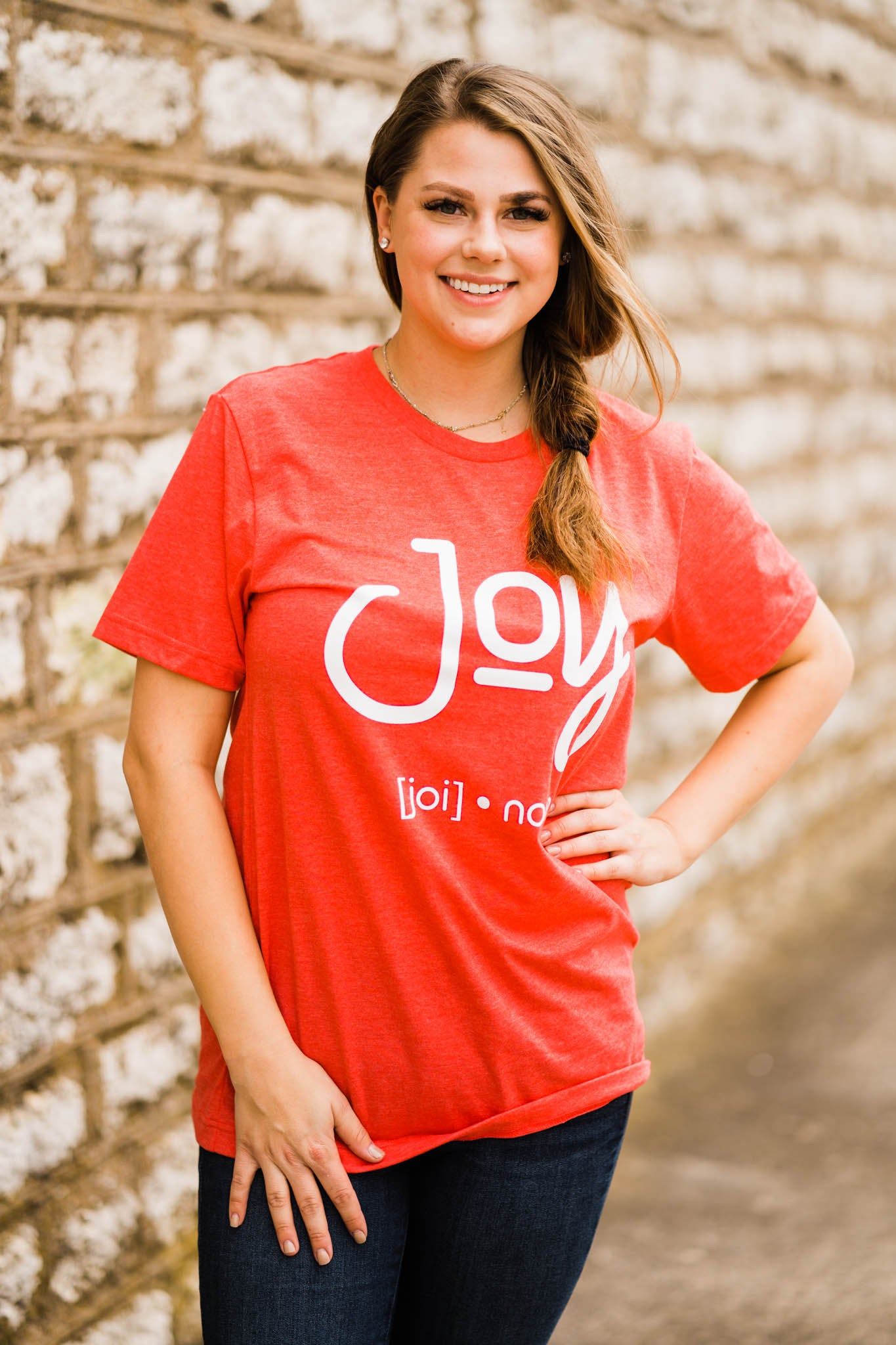 Graphic Tee - JOY, Unclassified - Lola Cerina Boutique