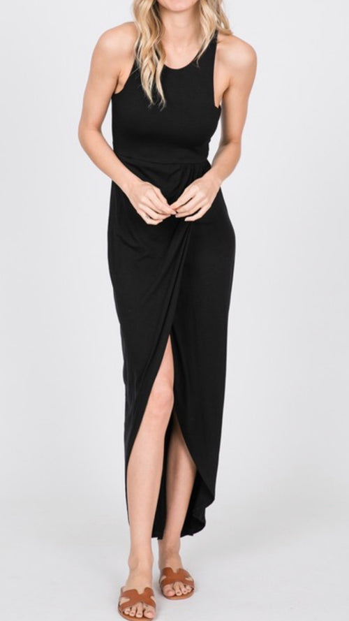 Meg Sleeveless Maxi Dress,  - Lola Cerina Boutique