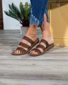 Dafne Sandals by Corkys | Leopard - Lola Cerina Boutique