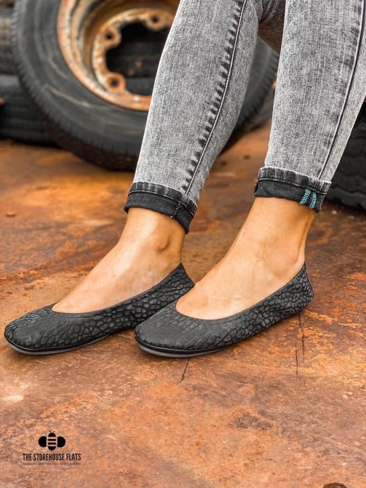 August PREORDER Storehouse Flats | Dusk Suede