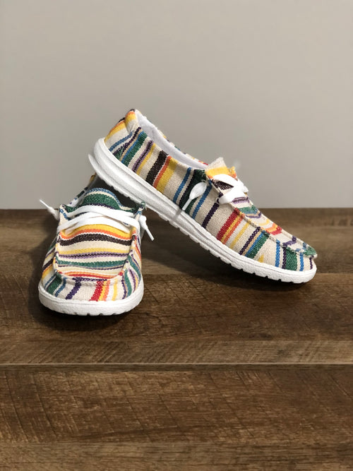Very G Gypsy Jazz Shila Sneaker | White - Lola Cerina Boutique