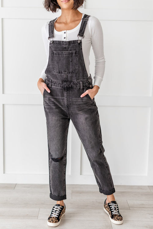 Been There Done That Denim Overalls, Clothing - Lola Cerina Boutique