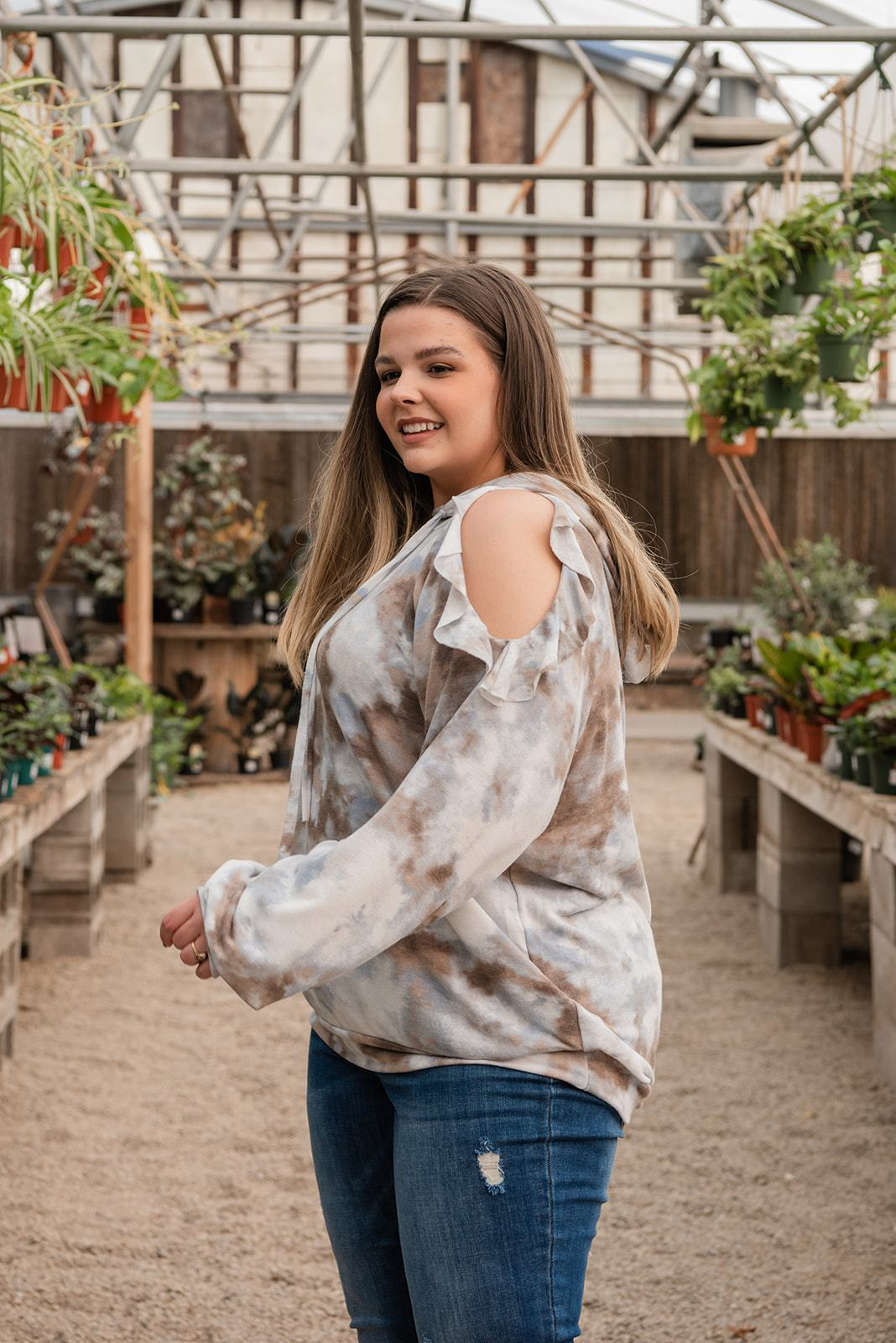 Beat The Odds Tie Dye Top, Clothing - Lola Cerina Boutique