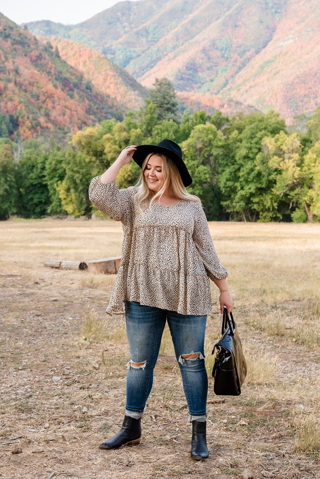 Living Wild Tiered Top - Lola Cerina Boutique