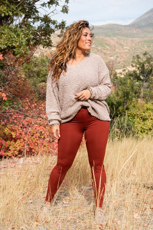 Loveable Leggings | 2 Colors - Brick & Hunter - Lola Cerina Boutique