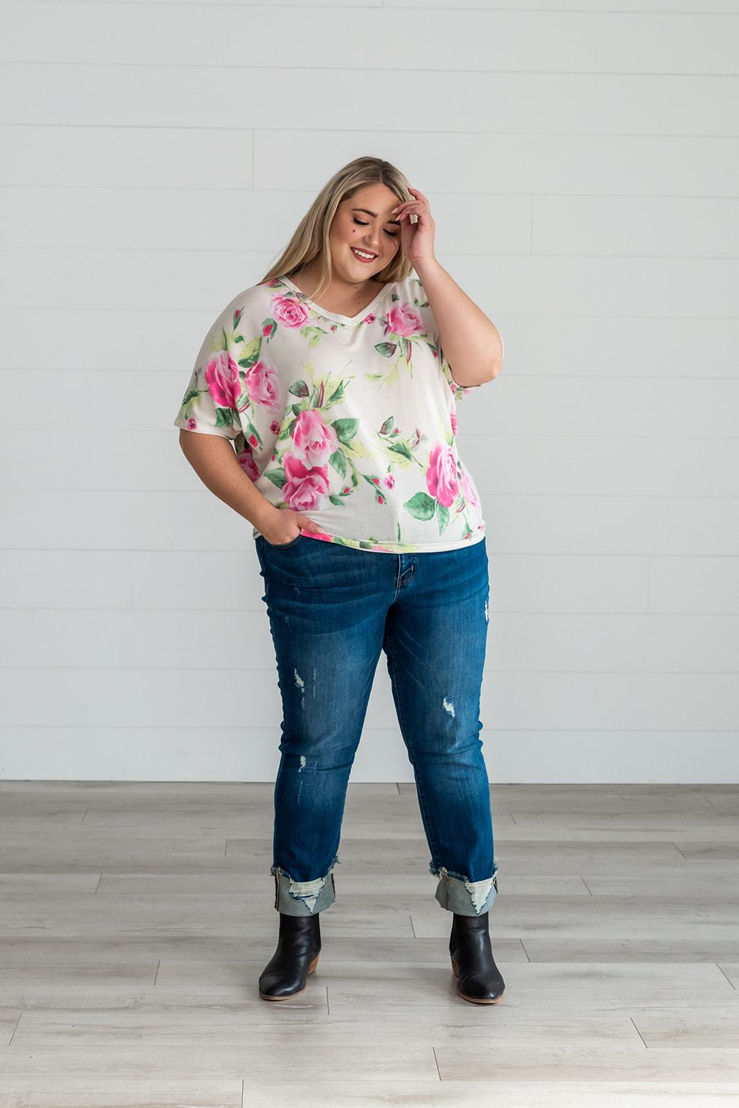 Forever My Girl Floral Top, Clothing - Lola Cerina Boutique