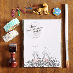 Short Conversation Notepad | Sustainably Sourced Paper