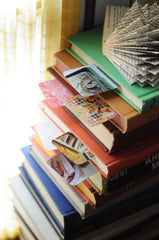 Agathat Christie Book Stack Bookmark | Analog Photography