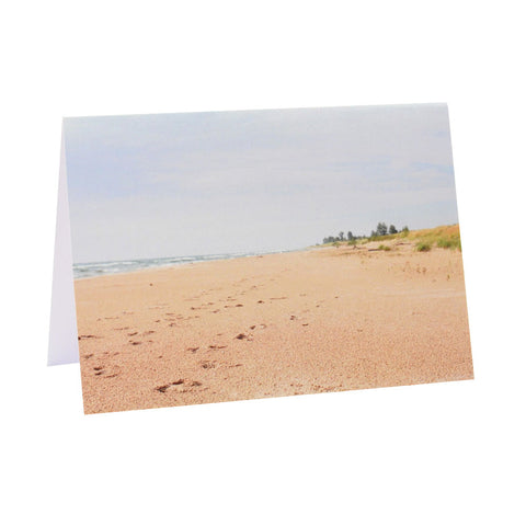 Greeting Card Film Photography | Lake Michigan Beach | Blank Inside