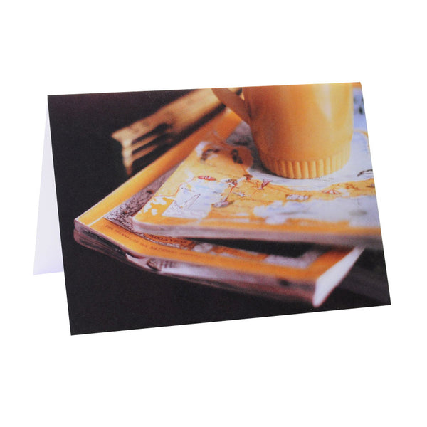 Old Yellows Greeting Card