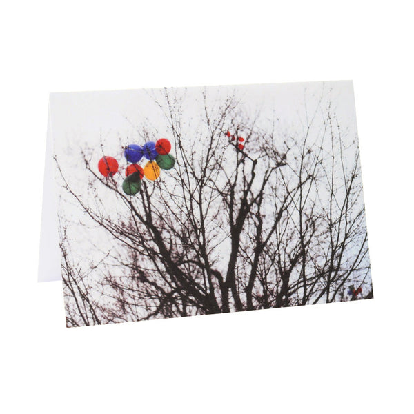 Tree Party Greeting Card or Postcard