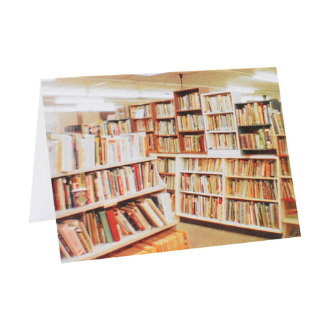 Books on Books Greeting Card