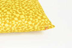 Pillow | Yellow Geometry