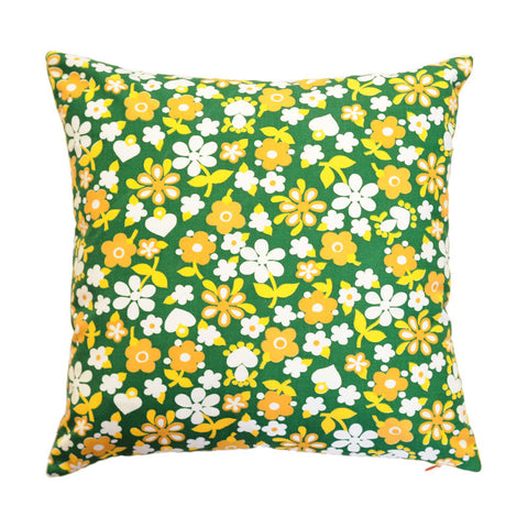 Pillow | Vintage Green Floral