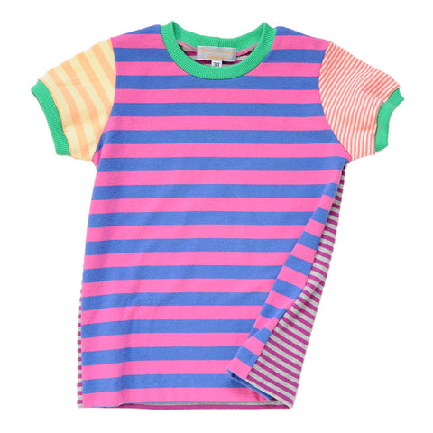 Children's Striped Tee | Handmade, One-of-a-Kind, Unique and Up-Cycled