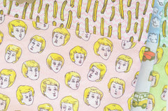 Blond Boys Love French Fries Pouch | www.Imaginaryanimal.com