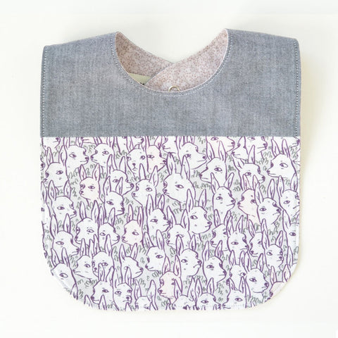 Deer Garden Original Fabric Baby Bib