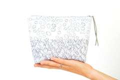 Mountains and Clouds Boxy Pouch | Orignal Fabric by Marie Gardeski