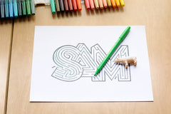 Personalized Sam Name Maze | Instant Download PDF