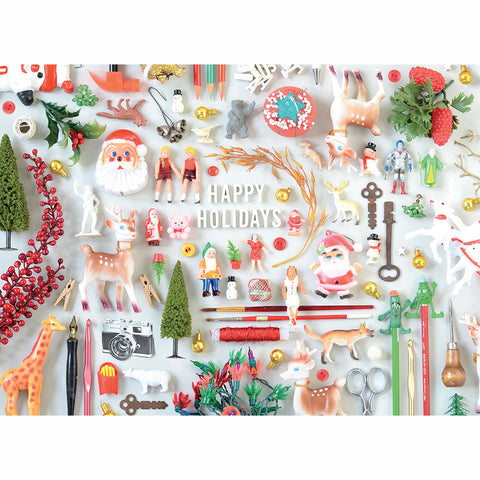 Tiny Things Holiday Collection Greeting Card