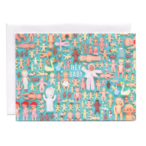 Tiny Things Baby Collection New Arrival Greeting Card