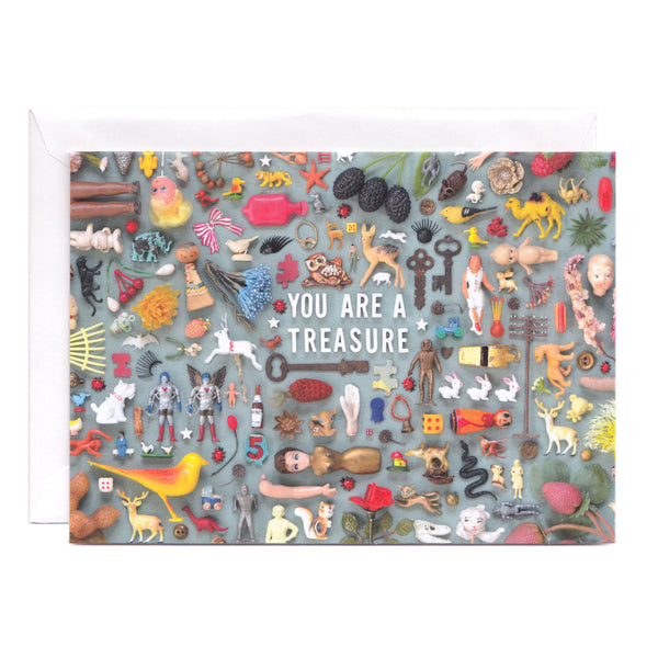 Tiny Things Treasure Collection Greeting Card
