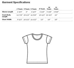 American Apparel Baby Rib Tee Size Chart