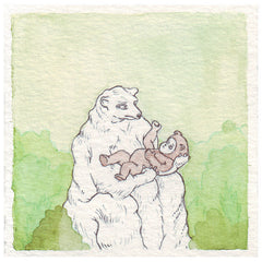 Baby Bear | Original Drawing by Marie