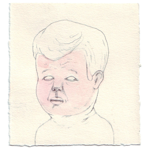 Original Drawing by Marie | Elderly Baby