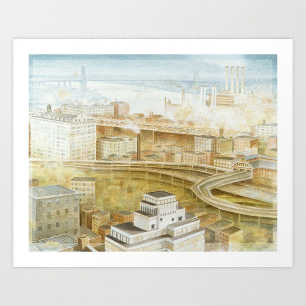 Fine Art Print | Brooklyn 1949