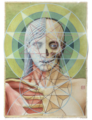 "Fine Art Print of ""Sacred Geometry"" Painting by David Birkey"