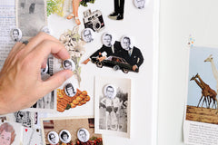 Old Friends Magnets | Funny Retro Faces For Your Fridge