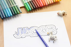 Jacob Name Maze - Printable PDF