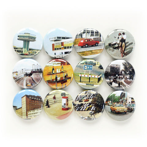 Little Cities Magnets | Tiny Scenes For Your Fridge | Talking Heads References