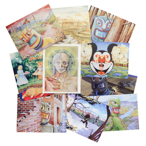 Postcard Set | 10 Paintings by David Birkey
