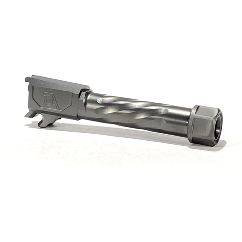 P365 Threaded & Spiral Fluted Barrel - DLC Finish - 76A
