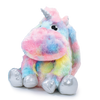 Lola & The Boys Accessories Furry Tie Dye Unicorn Backpack