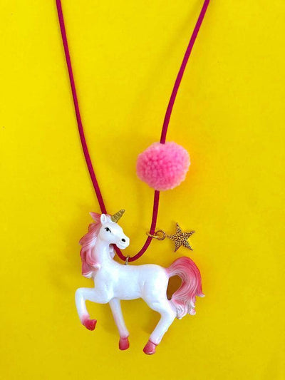Lola + The Boys Accessories Rebel Unicorn Gunner & Lux Necklaces