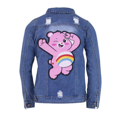 Lola + The Boys Jackets & Bombers Care Bears Cheer Bear Denim