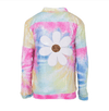 Lola + The Boys Jackets & Bombers Tie Dye Daisy Sequin Bomber