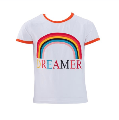 Lola + The Boys Tees Dreamer Ringer T-Shirt