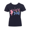 Lola + The Boys Tees Girls Care Bear Catch All The Feels T-Shirt