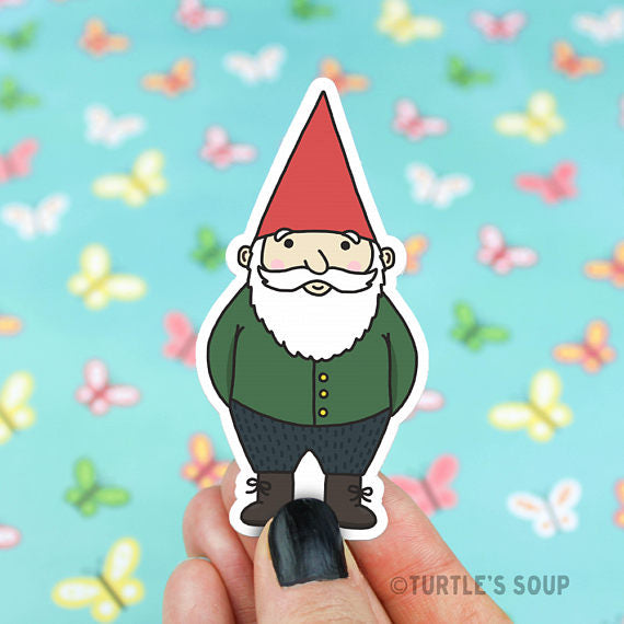 Vinyl Sticker | Gnome - Leo + Cullie