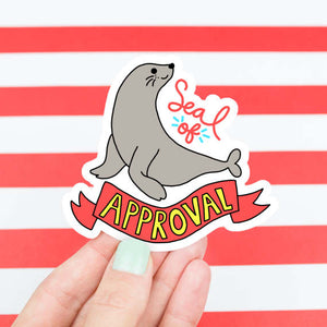 Vinyl Sticker | Seal - Leo + Cullie
