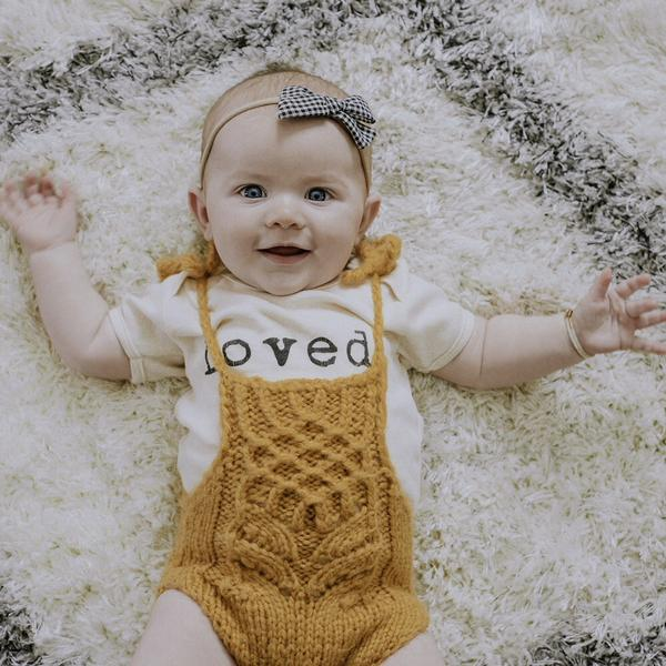 Loved. | Organic Bodysuit - Leo + Cullie