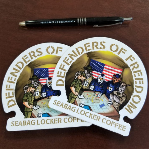 Defenders of Freedom Stickers