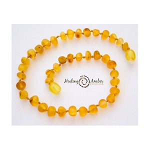 "Amber 9"" Adult Bracelet Raw Gold"