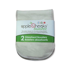Applecheeks Bamboo Booster - 2 Pack