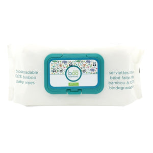 Boo Bamboo Wipes - 80 Ct