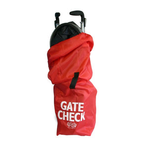 Gate Check Bag - Umbrellas Red
